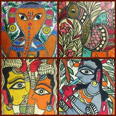 madhubani decor - Google Search