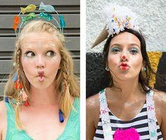Acessórios de cabeça para arrasar nos bloquinhos de Carnaval