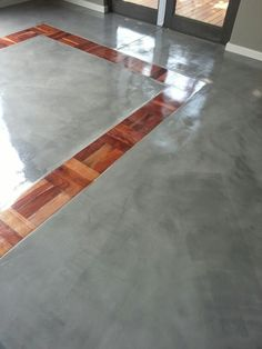 Upcycled refurbished parquet tiles together with Cemcrete Cretecote floors . Johannesburg SA. Www.cemente.co.za