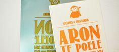 Letterpress: van plaat tot kaartje | SPECIALE-GEBOORTEKAARTJES.NL