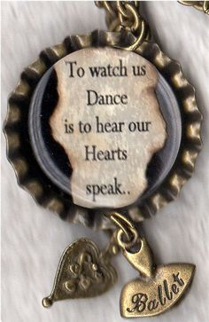 To Watch Us Dance Necklace with Charms by forjoplin on Etsy, $7.50