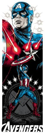 Repin if you like this Captain America print and click to see how you could win it from @AMCTheatres!