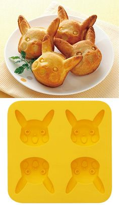 It's about time you teach Pikachu some new moves, like the ability to turn himself into ice cubes or delicious chocolate treats! This food safe silicone mold features four very happy Pikachus waiting to get eaten or placed in your drink. Pokemon Gifts, Pokemon Party, Pokemon Birthday, Chocolate Treats, Delicious Chocolate, Stefan E Caroline, Pokemon Merchandise, Cute Food, Food Art