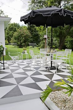 A Little Paint is All it Takes to Totally Transform Your Patio | Apartment Therapy