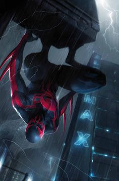Spider-man 2099 #11 by Francesco Mattina *