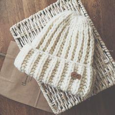 Merino and alpaca wool hat