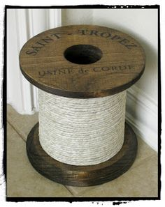 Life Crafts & Whatever: Ballard Inspired Spool. But smaller. And cuter. Maybe.