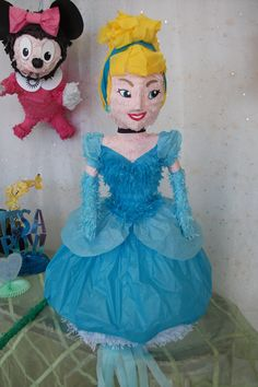 Cinderella pinata   Princess pinata   made to order: email for more information mypinataboston@gmail.com