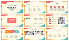 Colorful creative wave Free Google Slides Theme PowerPoint Template