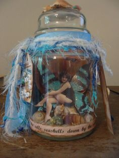 **New & Open** Captured Fairy in a Jar --KIT--Swap Due April 4th - Splitcoaststampers.com