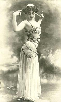 vintage belly dancer bellydance