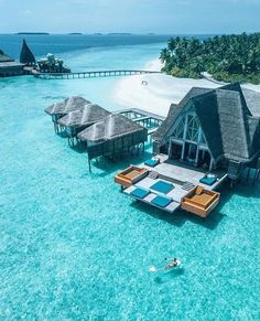 Maldives - 20 Most Beautiful Islands in the World Vacation Places, Vacation Destinations, Vacation Trips, Dream Vacations, Vacation Spots, Places Around The World, The Places Youll Go, Places To Go, Maldives Villas