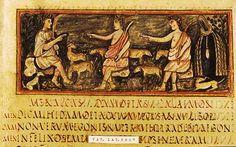 Roman Virgil - Folio 6 recto