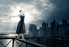 Sara Mearns NYC Ballet Company We need ballet to be a presence in Cleveland just like it is in NYC. I have a photo shoot soon to take some similar shots in Cleveland. Can't wait.