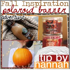 Fall Inspiration: Polaroid Banner by pinkcupcake14 on Polyvore featuring polyvore, art and pinktips