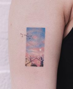 Saegeem is an amazing tattoo artist. She is in Seoul, Korea . - Saegeem is an amazing tattoo artist. She is in Seoul, Korea … – - Tiny Tattoos For Girls, Little Tattoos, Tattoo Girls, Small Tattoos, Tattoos For Women, Tatoo Geek, Tatoo Art, Body Art Tattoos, Framed Tattoo