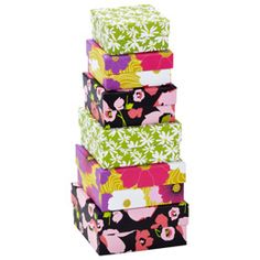 Floral Nested Boxes