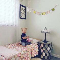 We love seeing our pink Minky blanket on Goldie's first big girl bed! Ramshackleglam is making us swoon with this room and our baby blanket. KVH by Kelly Van Halen for baby.