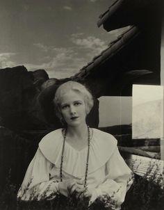 Ann Harding (Juxtapositions), Beverly Hills, California, 1931 (Edward Steichen)