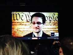 Edward Snowden appears at SXSW, calls on U.S. technology companies to protect privacy.