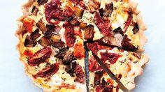 Roasted Vegetable Tart Recipe | Bon Appetit