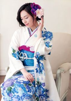 Contemporary furisode.  Japan