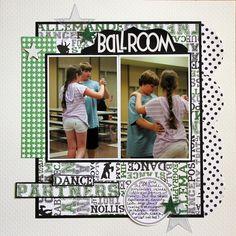 Scrappin' Sports & More: Ballroom Dance Partners