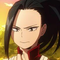 momo yaoyorozu // boku no hero academia