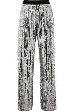 Sass & bide|A Grand Affair metallic sequined pants|NET-A-PORTER.COM