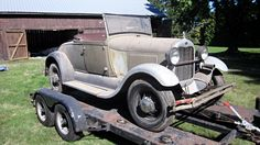 Dusty Roadster: 1929 Ford Model A - http://barnfinds.com/dusty-roadster-1929-ford-model-a/