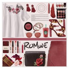 """""""Romwe Contest ♥"""" by av-anul ❤ liked on Polyvore featuring Michelle Mason, Charlotte Russe, Miss Selfridge, Vivienne Westwood, Ray-Ban, Tyler Mackenzie Designs, Dolce&Gabbana, Diamondere, MAC Cosmetics and By Terry"""