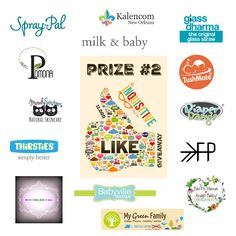 2 awesome prize pack! 2 Winners! Enter The Inquisitive Mom 11,000 Likes Giveaway Celebration.