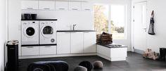 Vaskerommet er et av hjemmets mest aktive rom