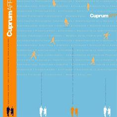 Detalle diseño portada Memoria Corporativa. Cliente: AFP CUPRUM