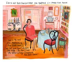 Visit with Kitty Carlisle by Maira Kalman