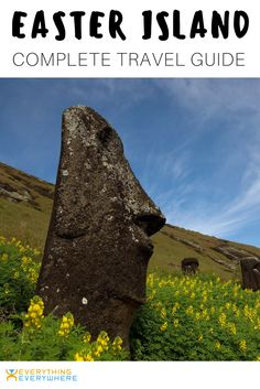 Essential info and tips for anyone planning to travel to Easter Island, including a history of the island, where to see the famous Moai head statues, other top destinations and how to get there. | Everything Everywhere