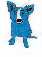 George Rodrigue - Blue Dog Fun : How to Draw Blue Dog Blue Dog Art, Third Grade Art, Drawing Skills, Drawing Guide, Drawing Ideas, Elementary Art, Elementary Education, Art Education, Cool Art Projects