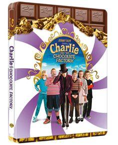Charlie und die Schokoladenfabrik Steelbook Amazon Exklusiv