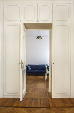 Thru the door