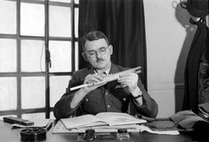 """""""Air Commodore Sir Frank Whittle, OM, KBE, CB, FRS, Hon FRAeS (1 Jun 1907 – 9 Aug 1996) was an English Royal Air Force (RAF) engineer air officer. He is credited with single-handedly inventing the turbojet engine. A patent was submitted by Maxime Guillaume in 1921 for a similar invention; however, this was technically unfeasible at the time. Whittle's engines were developed some years earlier than those of Germany's Dr. Hans von Ohain who was the designer of the first operational jet…"""
