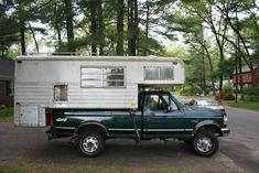 Barth vintage truck camper