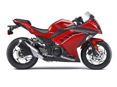 2016 Ninja® 300 ABS Passion Red