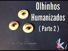 Olhinhos Humanizados passo a passo ( parte 2 ) - Dicas B e K artes - YouTube