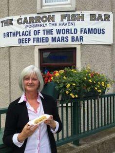 A Scottish Classic - Fried Mars Bar