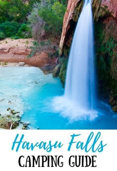 This must-read Havasu Falls camping guide covers everything you need to know – including Havasupai permits, camping fees, what to bring and more! #campingusa #traveltips #americansouthwest