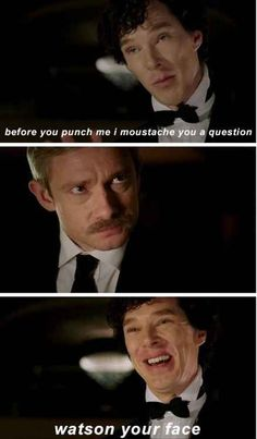 "This boomerang pun. | 33 ""Sherlock"" Puns That Will Tickle Your Punny Bone"