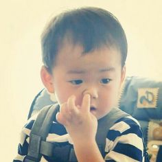 Triplets #Daehan Minguk Manse# Cute Kids, Cute Babies, I Miss You Guys, Korean Tv Shows, Song Daehan, Man Se, Song Triplets, Superman Baby, Kids And Parenting