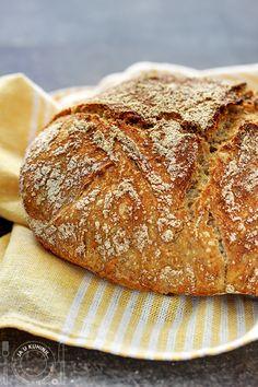 Hleb koji se ne mesi / No knead bread i Manastir Manasija