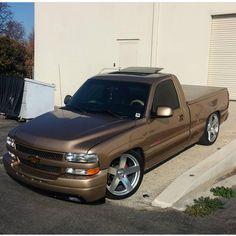 TruckinSociety™ Owner:@jra88_ #TruckinSociety #Chevy #Nbs #HD #BlackRhinoWheels…