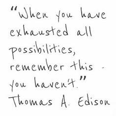 Create #anythingispossible